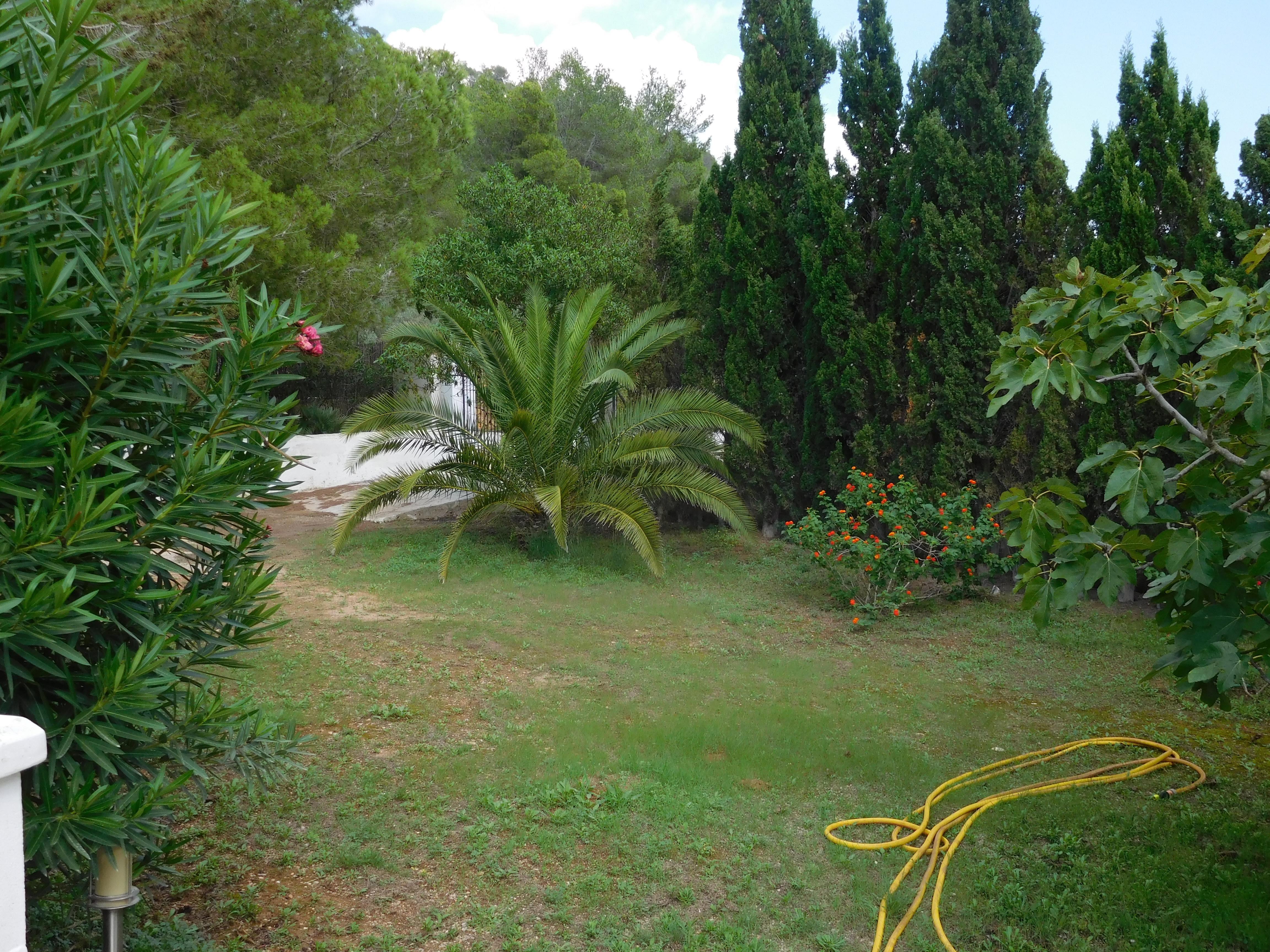 Villa San Josep de Sa Talaia jardin