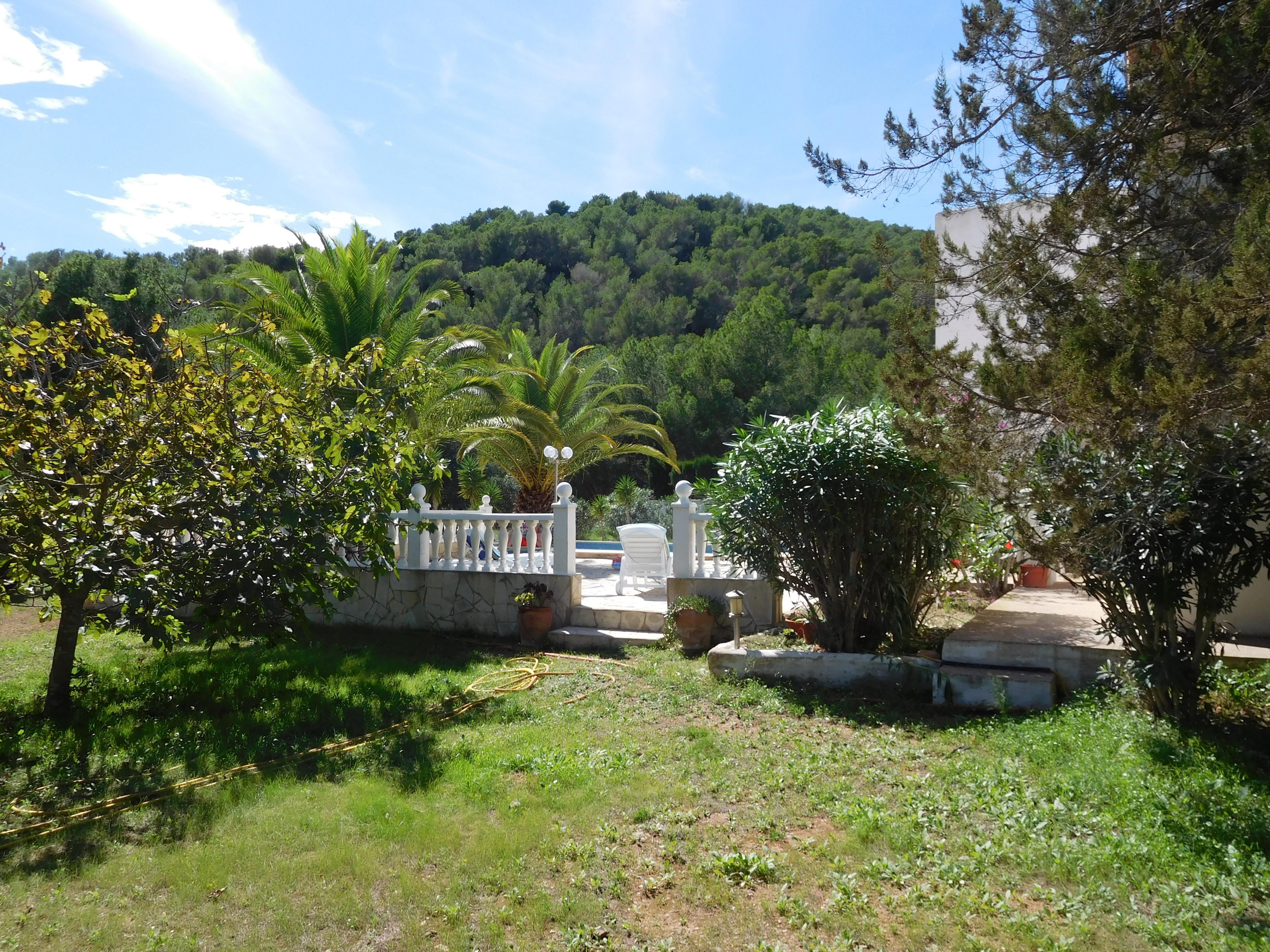 Villa San Josep de Sa Talaia jardin 2